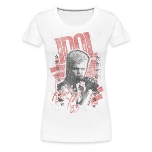 Rebels Billy Idol - Women's Premium T-Shirt