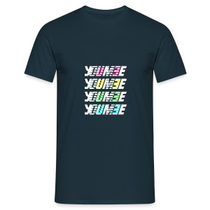 Youmee new kolor balance blked - Men's T-Shirt