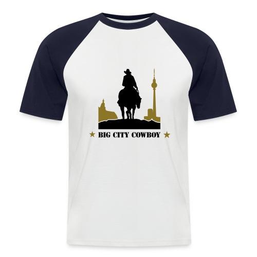 'Big City Cowboy' Baseball Tee - Men's Baseball T-Shirt
