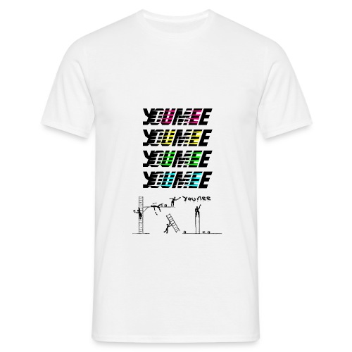 Youmee new kolor taggers - Men's T-Shirt
