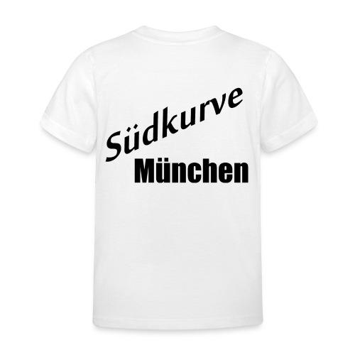 Südkurve München - Druck Hinten - Kinder T-Shirt
