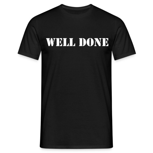 Well done - T-shirt herr