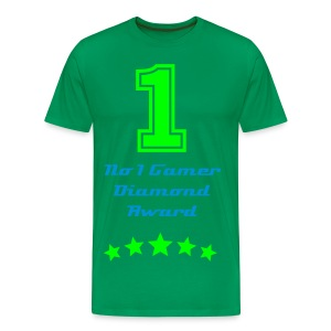 No 1 T-Shirt Male - Men's Premium T-Shirt
