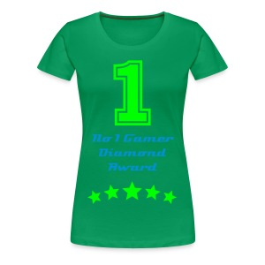 No 1 T-Shirt Female - Women's Premium T-Shirt