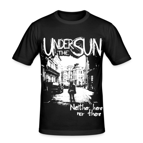 Neither Here Nor There Men's Tee (fitted) - Men's Slim Fit T-Shirt