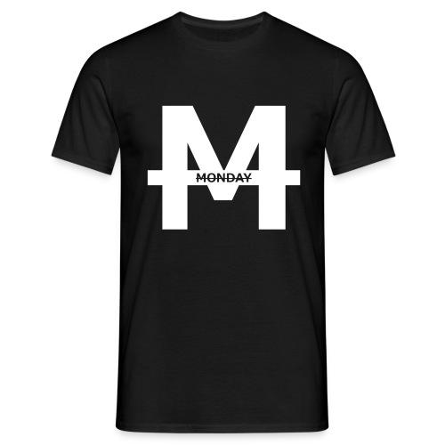 Monday - T-Shirt || White M - Männer T-Shirt
