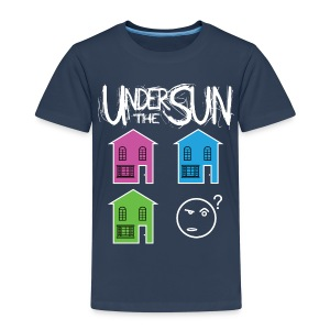 Houses Different Colours Kids Tee - Kids' Premium T-Shirt