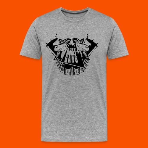 bmg in black - Männer Premium T-Shirt