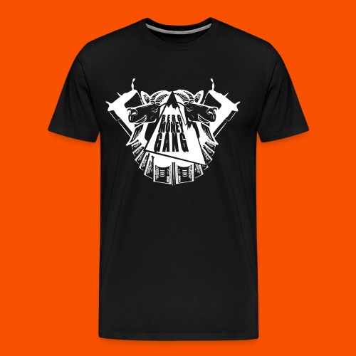 BMG white logo - Männer Premium T-Shirt