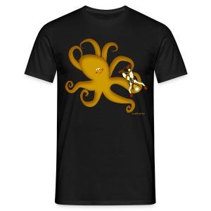 Octopus & Diver Men's T - Men's T-Shirt