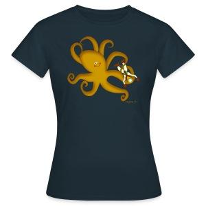 Octopus & Diver Women's T - Women's T-Shirt