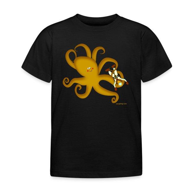 Octopus & Diver Kids T