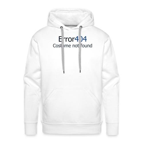 error404 - Sweat-shirt à capuche Premium pour hommes