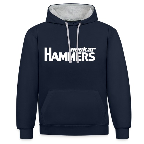 Hammers & Logo Kapuzenpullover - Kontrast-Hoodie