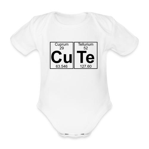 CuTe - Baby Bio-Kurzarm-Body