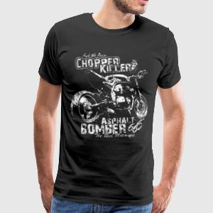 Streetfighter Chopper Killer - Männer Premium T-Shirt