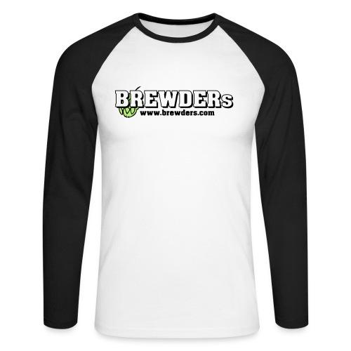 BREWDERs Baseball-Shirt - Männer Baseballshirt langarm