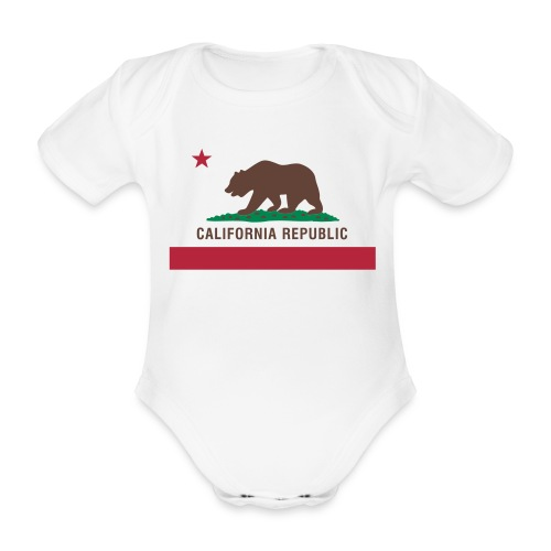 california - Baby Bio-Kurzarm-Body