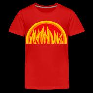 Shirts ~ Teenage Premium T-Shirt ~ Ogień o poranku
