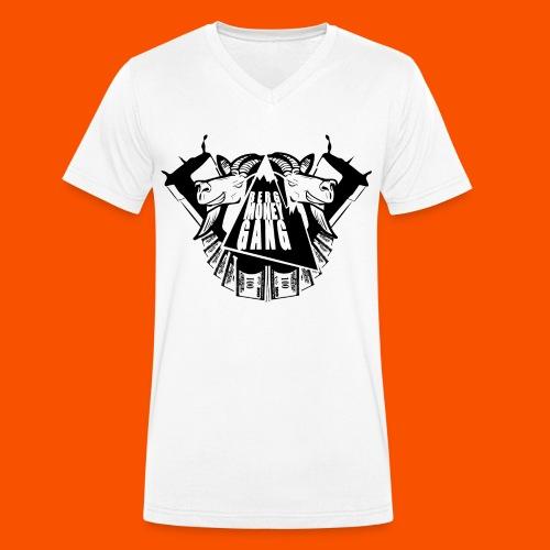 bmg in black V - Männer Bio-T-Shirt mit V-Ausschnitt von Stanley & Stella