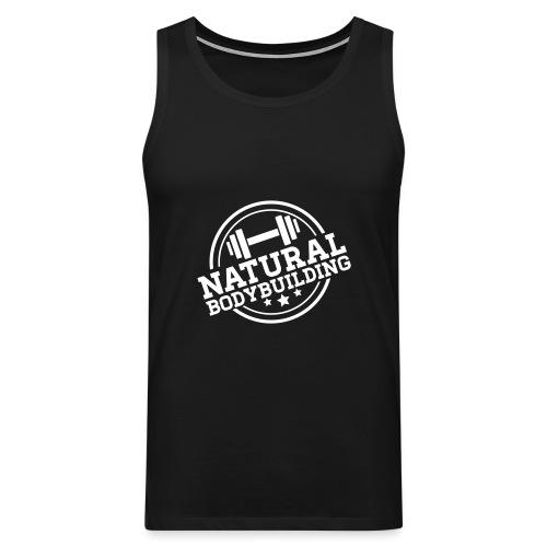 #NATURAL BODYBUILDING - Männer Premium Tank Top