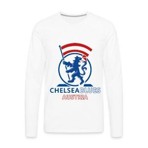 ChelseaBlues Pullover - Männer Premium Langarmshirt
