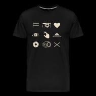 T-Shirts ~ Men's Premium T-Shirt ~ Fuji X T-shirt for Men