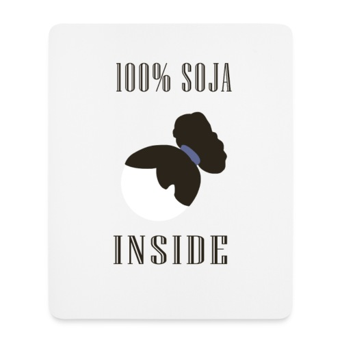 100 % Soja Inside - Tapis Souris - Tapis de souris (format portrait)
