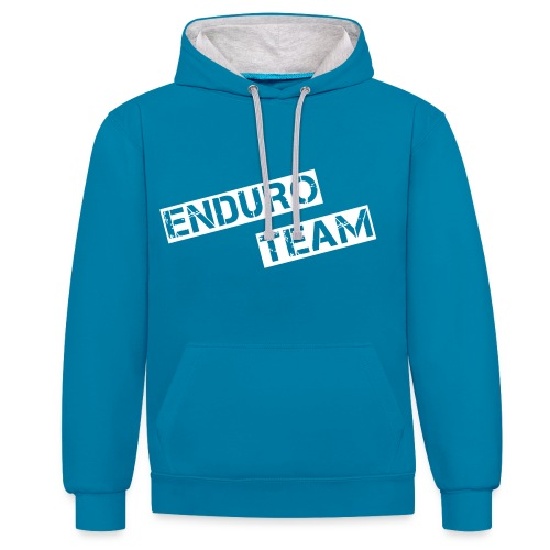 MSC ENDURO-TEAM Limited Edition - Kontrast-Hoodie