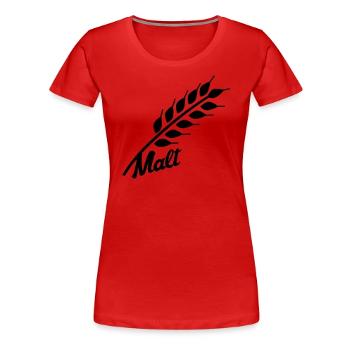 Real Ale Tee - Malt - Women's Premium T-Shirt