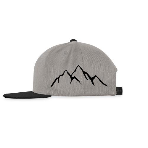 cap grå - Snapback Cap