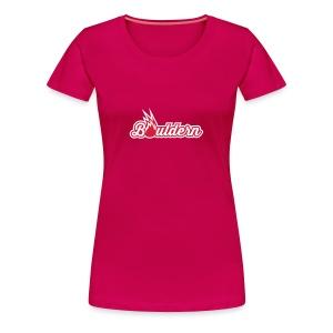 Boulderflamme - Frauen Premium T-Shirt