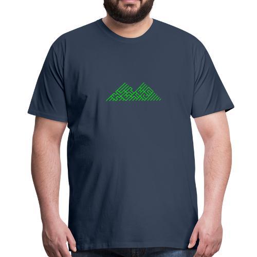 Klettern Logo - Männer Premium T-Shirt