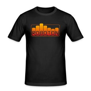 Men's Slim Fit T-Shirt - ebm,electro,music,roboton