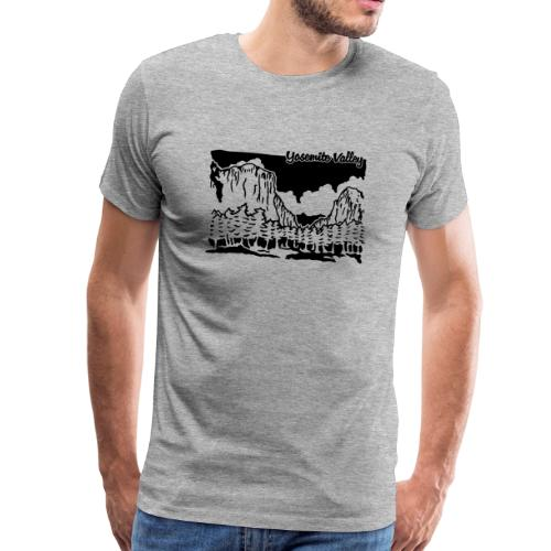 Yosemite Valley - Männer Premium T-Shirt