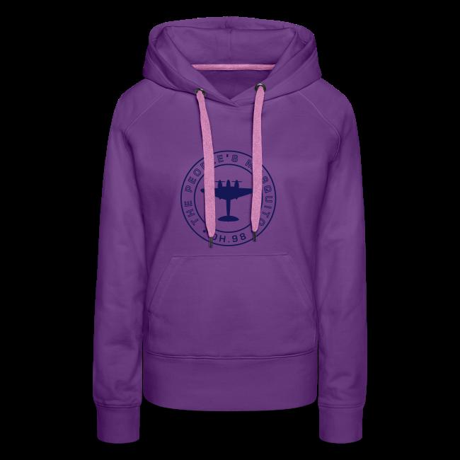 Women's MP Hoodie - Purple/Navy