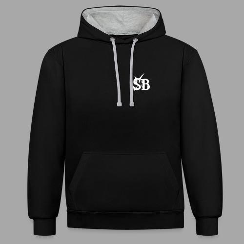 SB - Kapuzenpullover - Kontrast-Hoodie