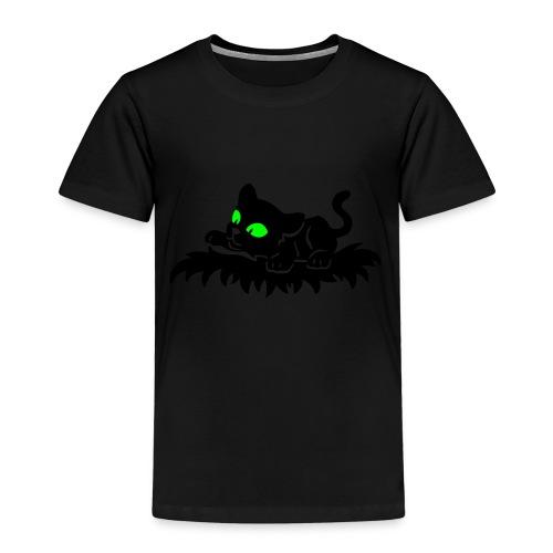 T-Shirt schwarz für Kinder mit spielendem Blacky - Kinder Premium T-Shirt
