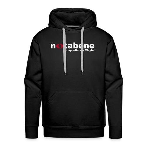 notabene Herren Kapuzenpullover - Männer Premium Hoodie