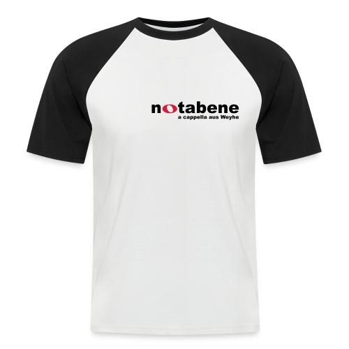 notabene Baseball T-Shirt - Männer Baseball-T-Shirt
