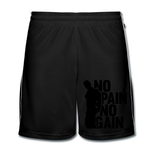 No Pain No Gain Short - Pantalones cortos de fútbol hombre