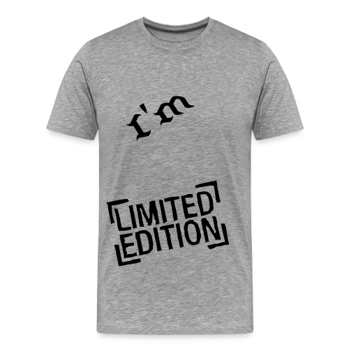 I'm Limited Edition T-Shirt - Men's Premium T-Shirt