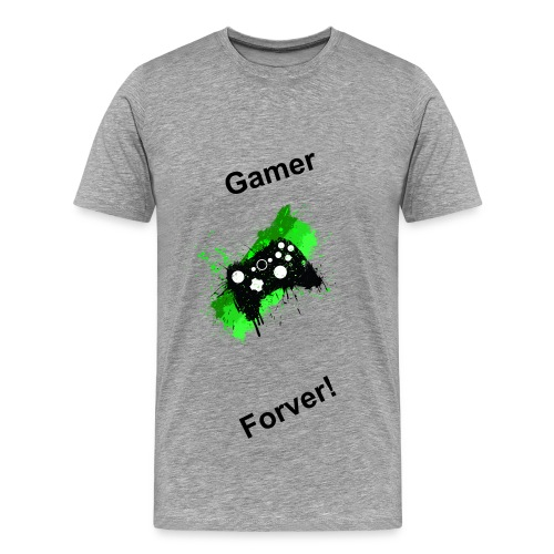 Gamer Forever T-Shirt - Men's Premium T-Shirt