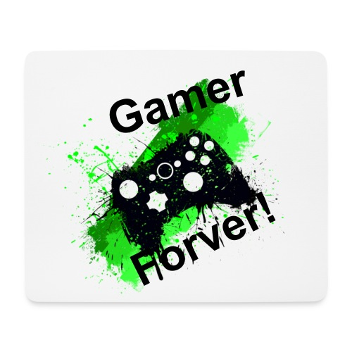 Gamer Forever Mouse Mat - Mouse Pad (horizontal)
