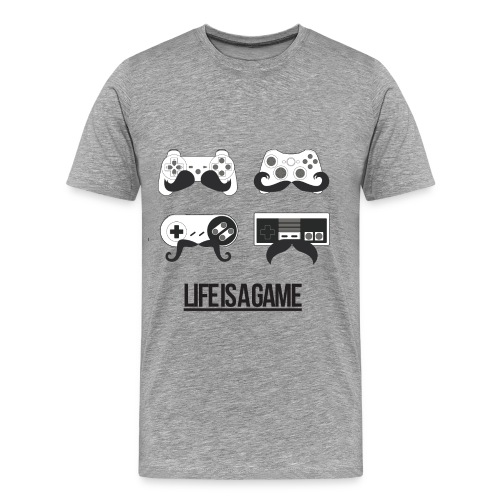 T-Shirt Life is a Game - T-shirt Premium Homme