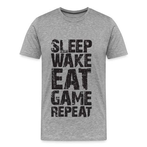 T-Shirt Wake and Game - T-shirt Premium Homme