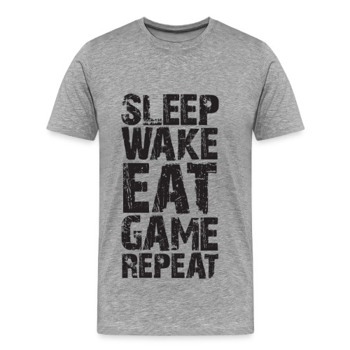 T-Shirt Wake and Game - T-shirt Premium Homme