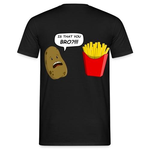 RIP Potato - Maglietta da uomo