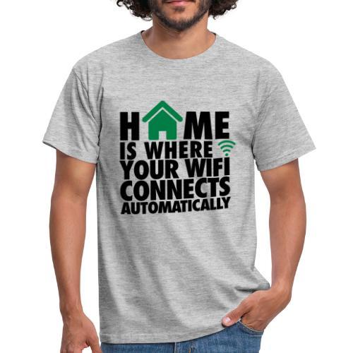 Hombre-Camiseta 'Wifi' - Camiseta hombre