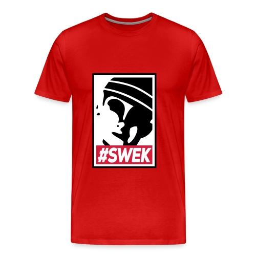Smurf Swek Punt - Mannen Premium T-shirt